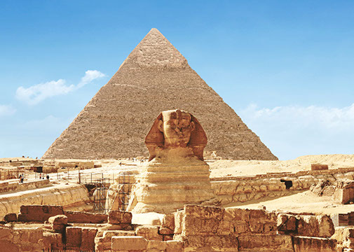 Explore one of the 8th Wonders of the World with a visit to the Pyramids in Cairo with TripGift